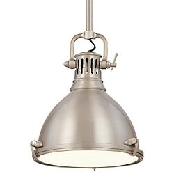 Pelham Pendant (Satin Nickel/Small) - OPEN BOX RETURN