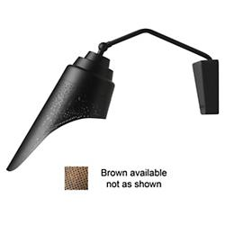 Perf Wall Sconce (Brown) - OPEN BOX RETURN