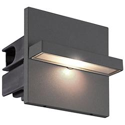 Perma LED Outdoor Wall Sconce (Graphite Grey) - OPEN BOX