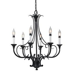 Peyton 6-Light Chandelier