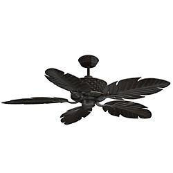 Pineapple Ceiling Fan (Aged Bronze) - OPEN BOX RETURN