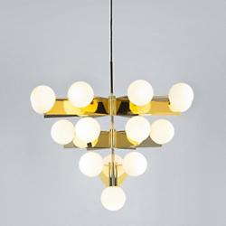 Plane Chandelier (Brass) - OPEN BOX RETURN
