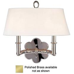 Pomona 2-Light Wall Sconce (Polished Brass) - OPEN BOX