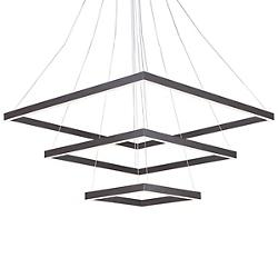 Quad 3 Tier LED Pendant