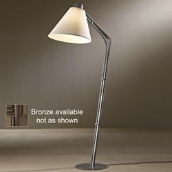 Reach Floor Lamp (Flax/Bronze) - OPEN BOX RETURN
