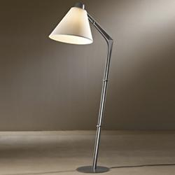 Reach Floor Lamp (Flax/Burnished Steel) - OPEN BOX RETURN