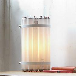 Recycled Tube Table Lamp