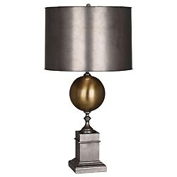 Regine Table Lamp (Patina Nickel/Antique Brass) - OPEN BOX