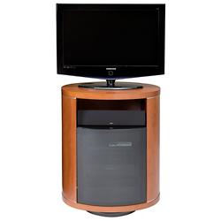 Revo Single Wide Swiveling Media Cabinet