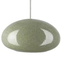 River Rock Oblong Oval Pendant