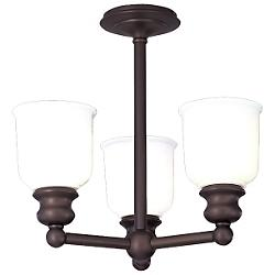 Riverton 3-Light Semi-Flushmount