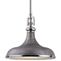Rutherford Pendant (Nickel/Zinc/15 inch) - OPEN BOX RETURN
