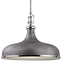 Rutherford Pendant (Nickel/Zinc/18 inch) - OPEN BOX RETURN