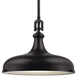 Rutherford Pendant (Oil Rubbed Bronze/18 inch) - OPEN BOX