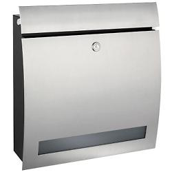 SIGNO Letter Box with Window (Stainless Steel) - OPEN BOX RETURN