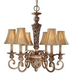 Salon Grand 6-Light Chandelier