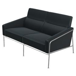 Series 3300 2-Seat Leather Sofa