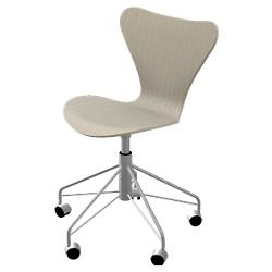 Series 7 Swivel Chair - Natural Veneer