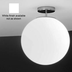 Sferis Flushmount (White/Medium/Incandescent) - OPEN BOX
