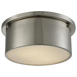 Simpson Flushmount (Brushed Nickel/Small) - OPEN BOX RETURN
