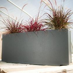Skinny Planter (Charcoal Grey) - OPEN BOX RETURN