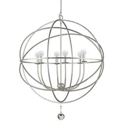 Solaris Chandelier (Olde Silver/Large) - OPEN BOX RETURN