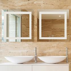 Spa LED Square Vanity Mirror