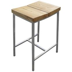 Stanley Stool (Ash/Stainless Steel) - OPEN BOX RETURN