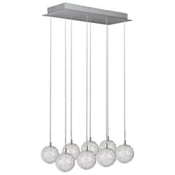 Starburst Globe Linear Suspension