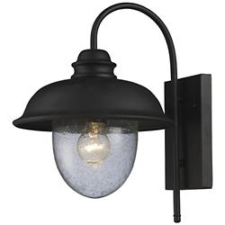 Streetside Cafe 62000 Outdoor Wall Sconce (Black) - OPEN BOX