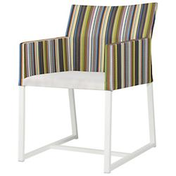 Stripe Dining Chair with Leisuretex Seat