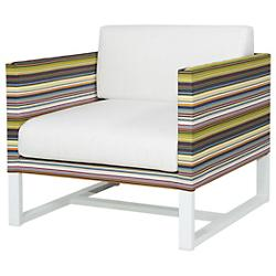 Stripe Lounge Chair