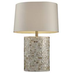 Sunny Isles Table Lamp (Mother of Pearl) - OPEN BOX RETURN