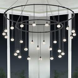 """Suspenders™ 32""""/48"""" LED Double Ring Suspension"""