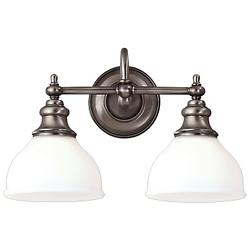 Sutton Bath Bar (Antique Nickel/2 Light) - OPEN BOX RETURN