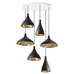 Swell 6 Multi-Light Pendant