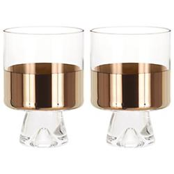 Tank Low Ball Glass Set of 2