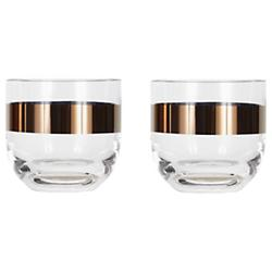Tank Whiskey Glass Set of 2