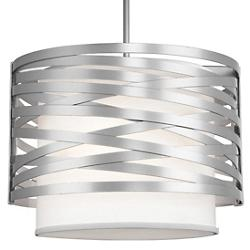 Tempest Drum Pendant with Shade