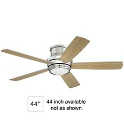 Tempo Hugger Ceiling Fan (Nickel/44 inch) - OPEN BOX RETURN