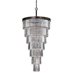 Tierney 19-Light Chandelier (Bronze) - OPEN BOX RETURN