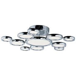 Timbale 11-Light Semi-Flushmount
