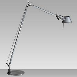 Tolomeo Reading Floor Lamp with 9 In. Base