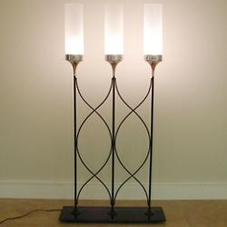 Top Hat Lighted Room Divider Floor Lamp
