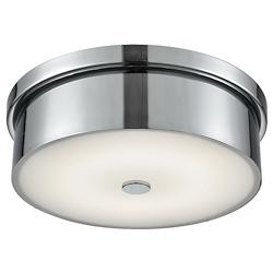 Towne Chrome LED Flushmount