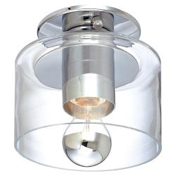 Transparence Ceiling Light (Clear/Chrome) - OPEN BOX RETURN