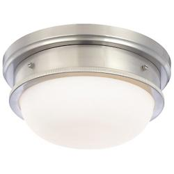 Trumbull Flushmount (Satin Nickel/Small) - OPEN BOX RETURN