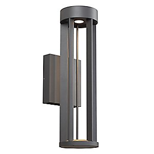 Fire wall sconce by tech lighting - Intriguing contemporary outdoor lighting fixtures for more attractive exterior ...