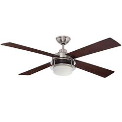 Urban Breeze Ceiling Fan (Brushed Nickel/48 inch) - OPEN BOX