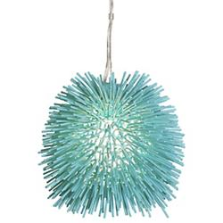 Urchin Mini Pendant (Aqua Velvet) - OPEN BOX RETURN